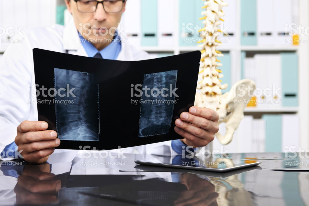 Radiologist Doctor Checking Xray Healthcare Medical And Radiology